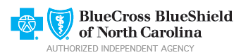 G.W. Hux & Company Insurance in Roanoke Rapids NC offers Blue Cross® and Blue Shield® of North Carolina (Blue Cross NC) insurance plans